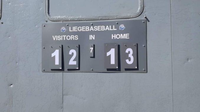 Liège Baseball score
