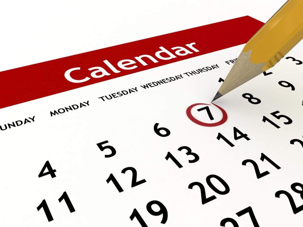 Saison 2019: le calendrier est publié