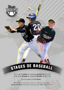 Stage de baseball Braine Black Rickers @ Terrain de Landuyt