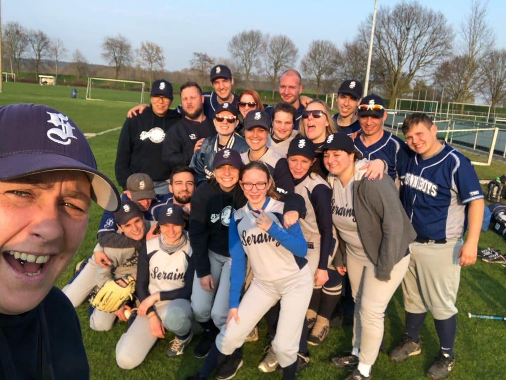 Les Brown Boys champions de softball… aux Pays Bas