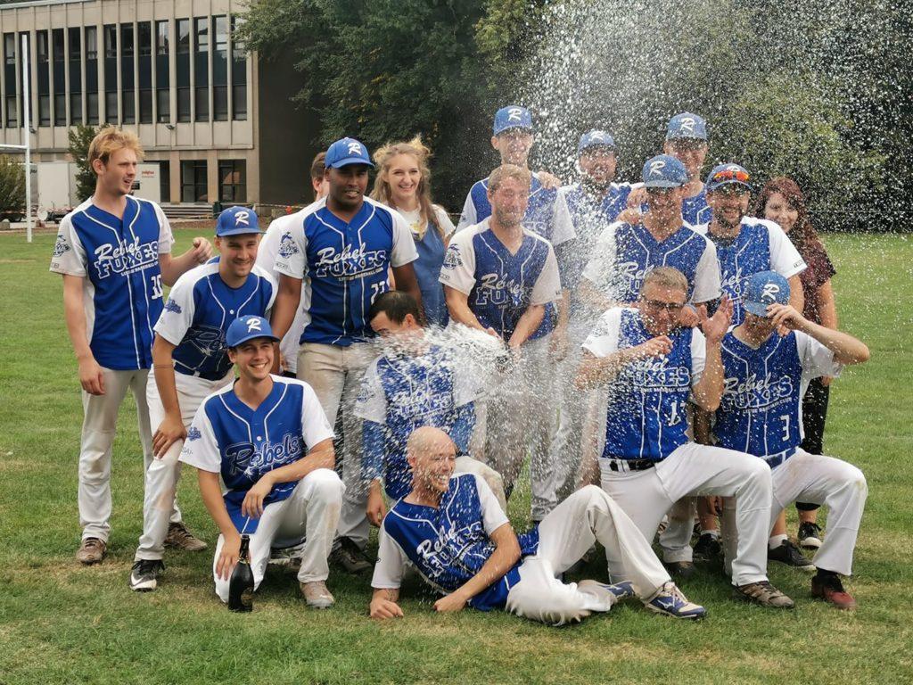 Baseball: Liège champion, MSG à une victoire de la D3