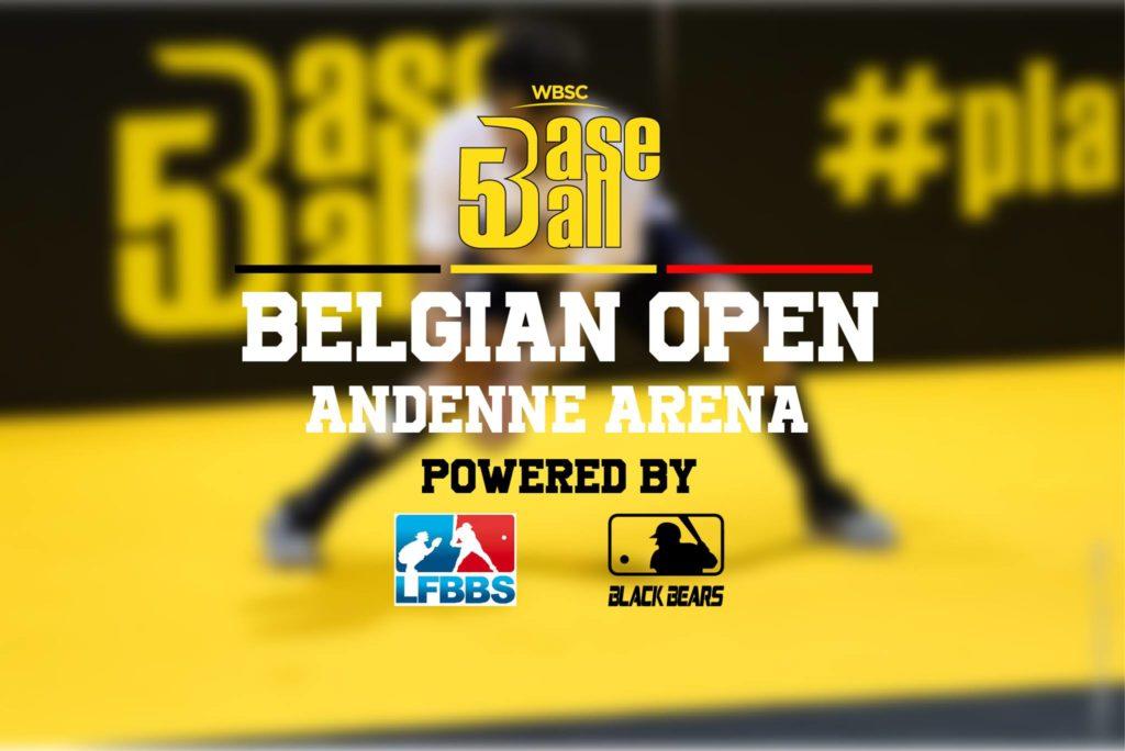 Belgian Open Baseball 5: inscriptions ouvertes