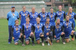 Softball: les Pioneers sont championnes de Belgique